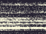 Abstract grunge vector background. Monochrome raster composition of irregular graphic elements. - 147119883