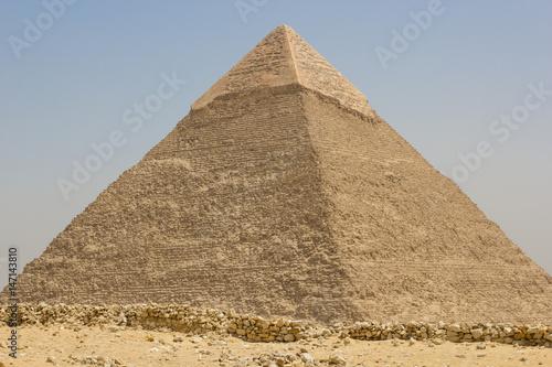 The Pyramid of Chephren in Giza