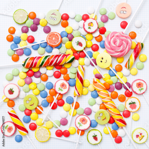 Poster Lollipops sweets