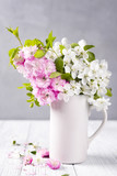 beautiful spring flowers - 147185204