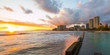 Sunset at Waikiki Oahu