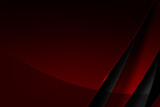 Abstract background red and dark overlap with shadow vector illustration eps10 002 - 147412443