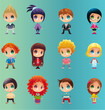 cute vector characters - 147468402