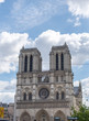 View of Notre Dame Cathedral, Paris, France