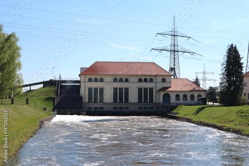 Fließgewässerkraftwerk Meitingen Poster