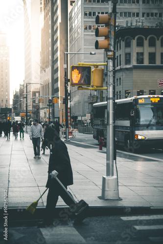 Daytime Scene in Manhattan - New York