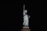 Statue of Liberty shining in the night