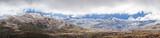 Panoramic Landscape of Snow Mountains. Australian Alps, Kosciuszko National Park, Australia - 147785613