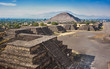 Teotihuacan pyramids in Mexico - 147815498