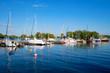 Quadro Hafen von Walluf