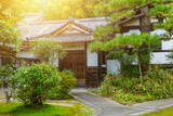 Japan Home garden zen style traditional Asian architecture. - 147905016