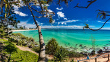 COOLANGATTA, AUS - MAY 01 2017, Coolangatta beach and Rainbow Bay, Gold Coast, Australia