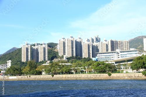 Poster Sha Tin New Town, Hong Kong