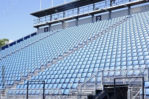 Leeres Stadion in Edinburgh Poster