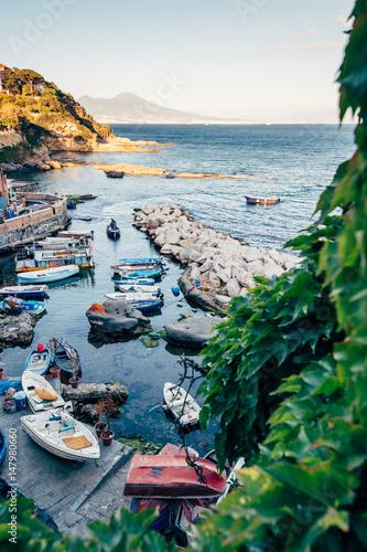 Foto op Aluminium Napels Marechiaro, Naples, Italy