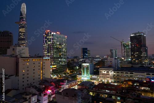 Foto op Aluminium New York Saigon 3 night