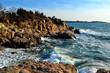 Coastline in Rhode Island