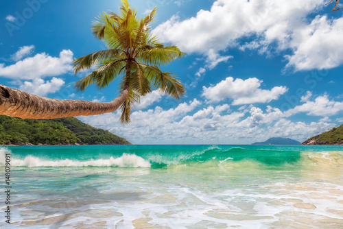 Obraz na Plexi Paradise beach.