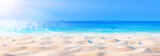 Beach Background - Beautiful Sand And Sea And Sunlight - 148113884