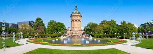 Mannheim Panorama mit Wasserturm