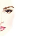Beautiful woman. Fashion illustration. Watercolor painting - 148244468