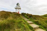 Waipapa Point Lighthouse in Neuseeland Stufen