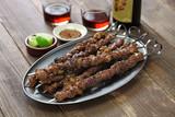 chinese spicy cumin lamb skewers, yang rou chuan