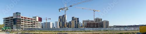 Papiers peints Photos panoramiques Panoramique urbanisme et chantier bâtiment