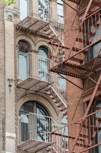 immeuble de New York Poster