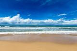 beach and tropical sea - 148568247
