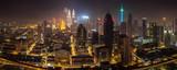 Kuala Lumpur panorama at night