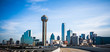 dallas texas city skyline and downtown