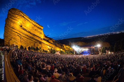 Plakat Red Rocks Amphitheater
