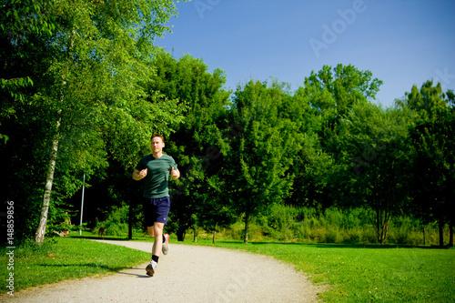 Foto op Aluminium Jogging Fitness