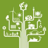 Environnement - énergie renouvelable - développement durable - écologie, recycler,  - 148869825