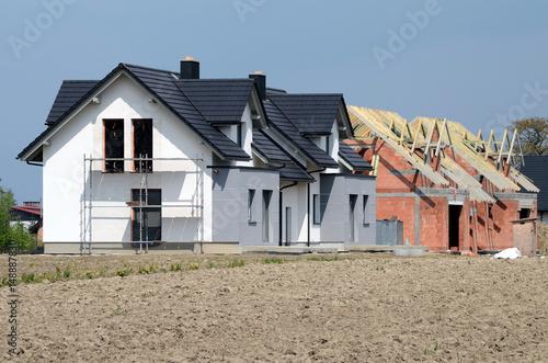 Fototapeta Construction of the house