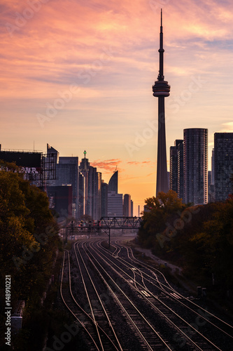 Toronto, Sunrise in the Core
