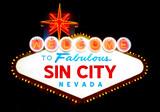 Welcome to Sin City (Las Vegas), Nevada, USA