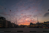 amsterdam sunset street