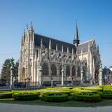 Church Notre Dame du Sablon Brussels, Belgium.