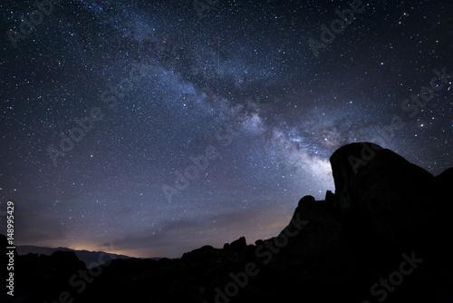 Fotobehang Nachtblauw Milky Way Night Sky