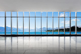 empty office and blue sea in blue sky - 149169096