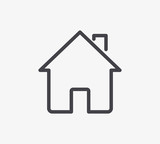 Home Line Icon. Editable Stroke. - 149241895