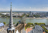 Cologne Hohenzollern Bridge And Rhine, Germany - 149250486