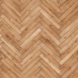 Seamless wood parquet texture (herringbone light brown) - 149291050