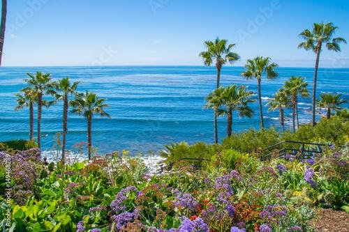 Fotobehang Tropical strand Laguna Beach, Orange County, Southern California Coastline