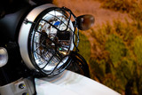 vintage classic Motorcycle headlight