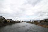 七条から見た鴨川