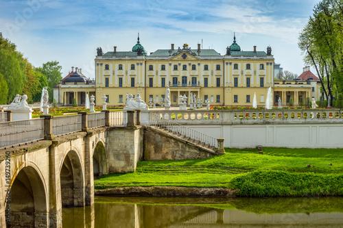 Zdjęcia na płótnie, fototapety na wymiar, obrazy na ścianę : Branicki Palace, Bialystok, Poland