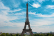 Eiffel Tower and skyline of Paris, France, Europe